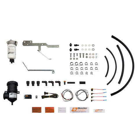 Ford Ranger (2018+) Raptor 2.0L Direction Plus PreLine Plus Fuel Pre-Filter and Pro Vent Catch Can Combo