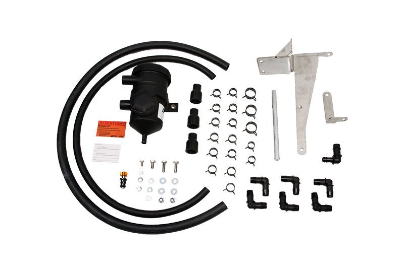 TOYOTA HILUX (2005-2015) D4D KUN 3L TURBO DIESEL PROVENT Catch Can Oil  Seperator Kit