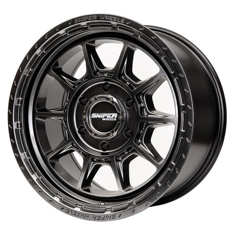 "SNIPER Recon 17"" Wheels to suit Landcruiser 70 Series - Extra HD Rating (1600KG)"