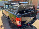OzRoo Universal Tub Rack for Ute - HALF CAB LENGTH