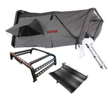 Roof Top Tent Camping Package - 4 Person Hard Shell Tent Canyon Offroad