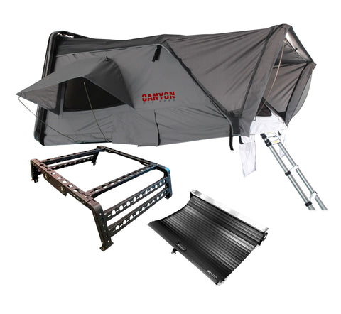 Roof Top Tent Camping Package - 4 Person Hard Shell Tent