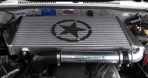 Toyota Landcruiser 76/78/79 Series CROSS COUNTRY 4x4 1HD-FTE Top-Mount Intercooler Kit