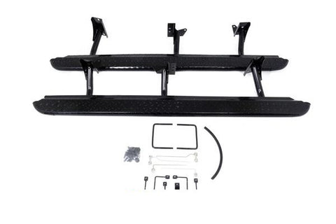 Toyota Hilux Rock Sliders - (2005-15) KUN High Tensile Steel 4x4 Side Steps