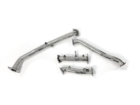 Toyota Landcruiser 200 Series (2015+) Stainless DPF-Delete Pipes