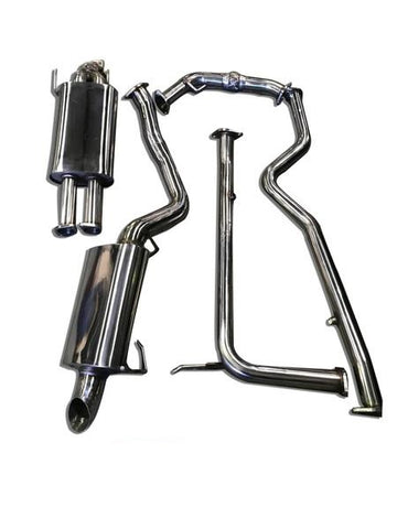 "Nissan Patrol (2013-2019) Y62 V8 3"" Stainless Steel Cat Back Exhaust System"