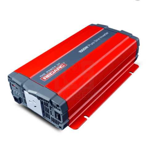 REDARC 1000W 12V Pure Sine Wave Inverter -  R-12-1000RS