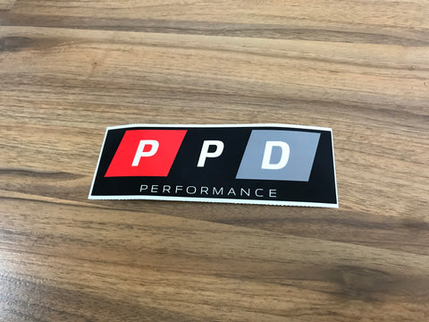 PPD Performance Sticker