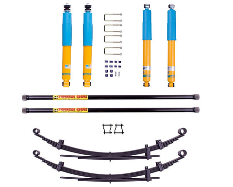 Isuzu DMAX (2009-2012) 40/50mm suspension lift kit - Bilstein B6