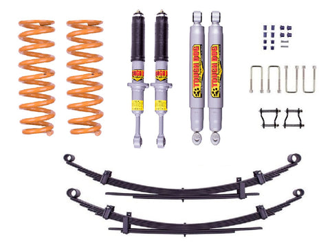 Nissan Navara (2005-2015) D40 50mm suspension lift kit - Tough Dog Foam Cell