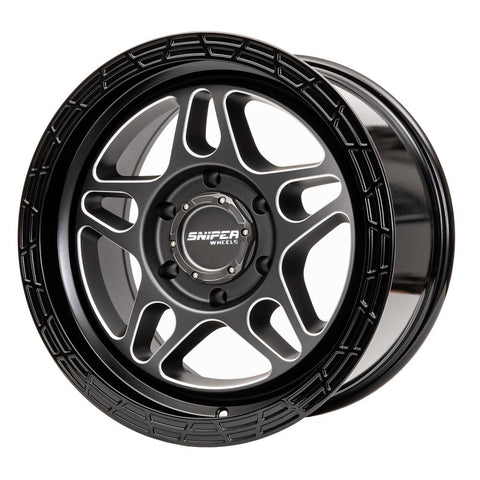 "SNIPER MILLRAD 17"" 4x4 Wheels - Extra+ HD Rating (1600KG)"