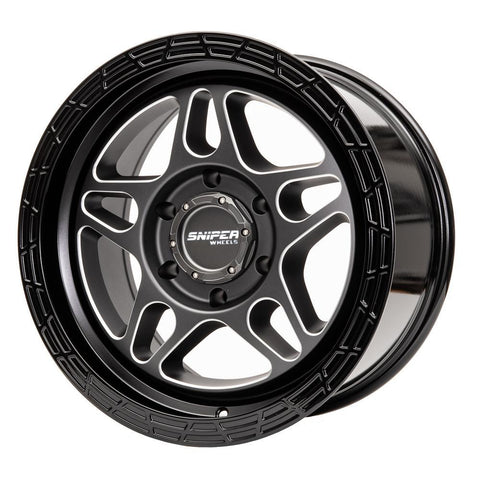 "SNIPER Millrad 17"" Wheels to suit Landcruiser 200 Series - Extra HD Rating (1600KG)"
