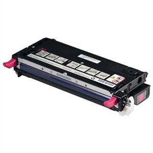 Dell 3110cn Magenta Toner - 8000 pg high yield -- part RF013 sku 310-8096 - OEM
