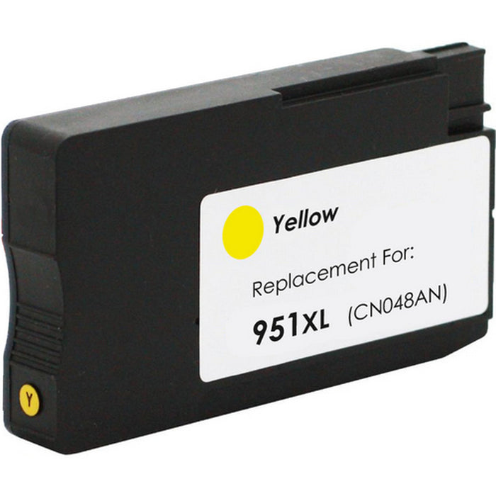 HP 951XL High Yield Yellow Original Ink Cartridge, CN048AN - Compatible