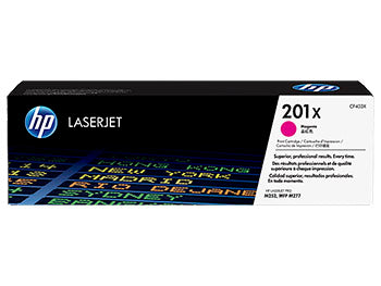 HP 201X High Yield Magenta Original LaserJet Toner Cartridge, CF403X - OEM