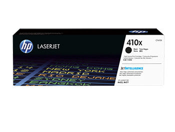 HP 410X High Yield Black Original LaserJet Toner Cartridge, CF410X - OEM