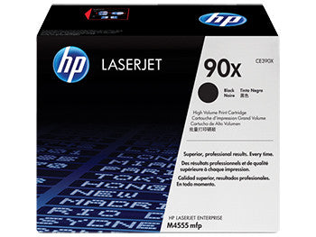 HP 90X High Yield Black Original LaserJet Toner Cartridge, CE390X - OEM