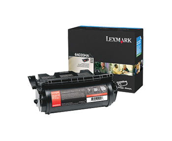 Lexmark T640, T642, T644 High Yield Print Toner Cartridge, 64035HA - OEM