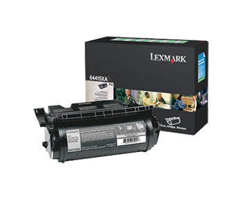 Lexmark T644 Extra High Yield Return Program Print Cartridge, 64415XA - OEM