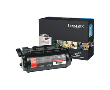 Lexmark T644 Extra High Yield Print Cartridge, 64435XA - OEM