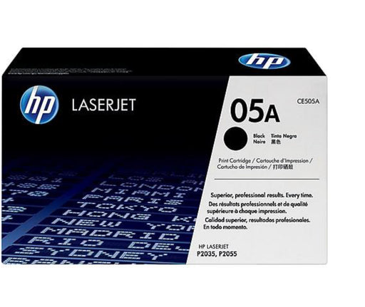 HP 05A Black Original LaserJet Toner Cartridge (CE505A) - OEM