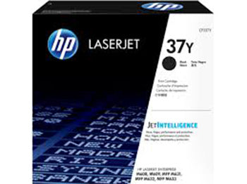 HP 37Y LaserJet Extra High Yield Black Toner Cartridge, CF237Y - OEM