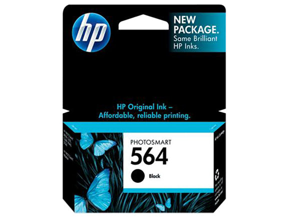 HP 564 Black Original Ink Cartridge - OEM