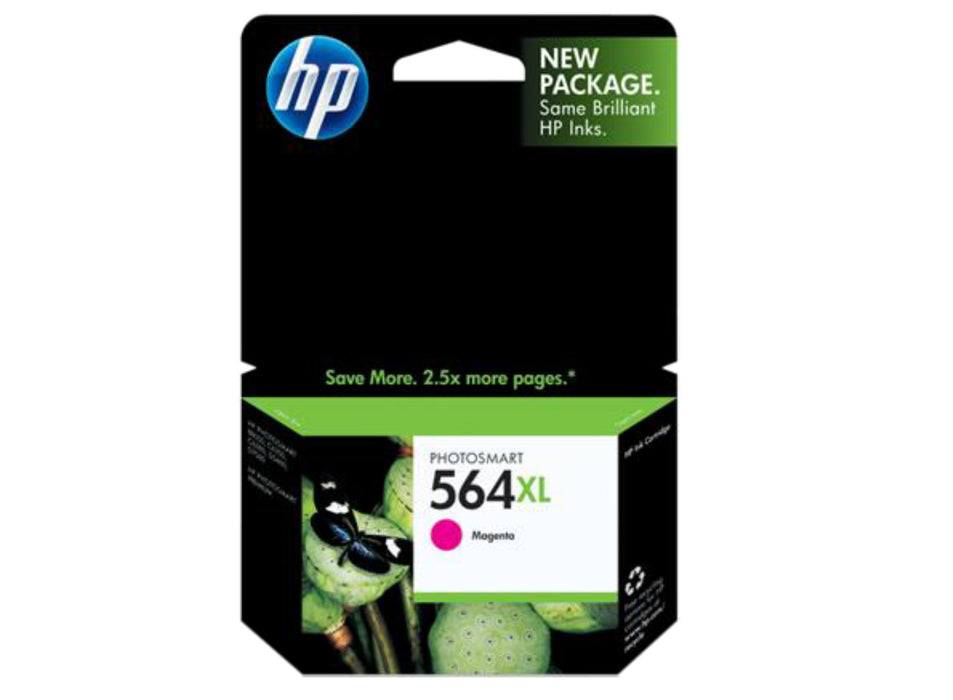 HP 564XL High Yield Magenta Original Ink Cartridge - OEM