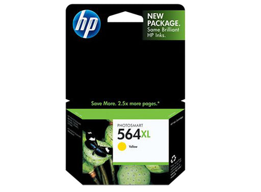 HP 564XL High Yield Yellow Original Ink Cartridge - OEM