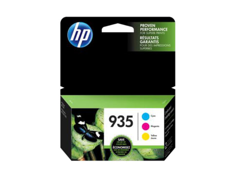 HP 935 3-pack Cyan/Magenta/Yellow Original Ink Cartridges - OEM