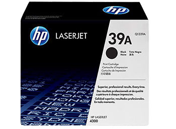 HP 39A Black Original LaserJet Toner Cartridge, Q1339A - OEM