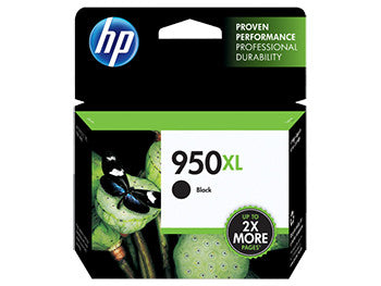 HP 950XL High Yield Black Original Ink Cartridge, CN045AN - OEM