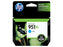 HP 951XL High Yield Cyan Original Ink Cartridge, CN046AN - OEM