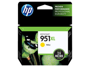 HP 951XL High Yield Yellow Original Ink Cartridge, CN048AN - OEM