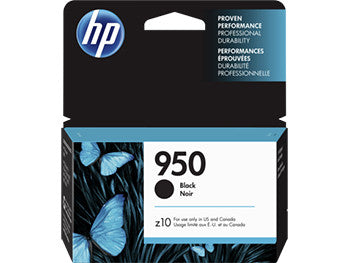 HP 950 Black Original Ink Cartridge, CN049AN - OEM
