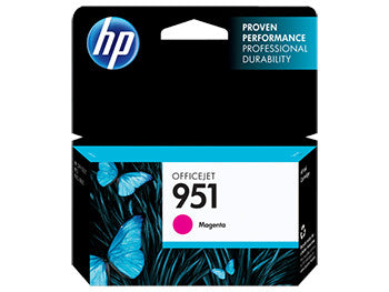 HP 951 Magenta Original Ink Cartridge, CN051AN - OEM