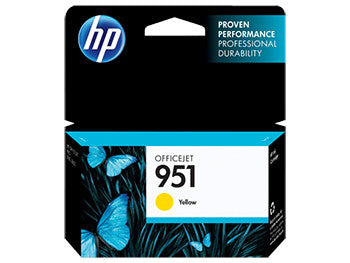 HP 951 Yellow Original Ink Cartridge, CN052AN - OEM