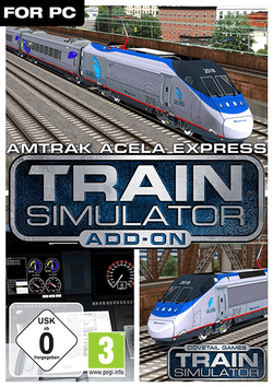 Amtrak Acela Express EMU Add-On