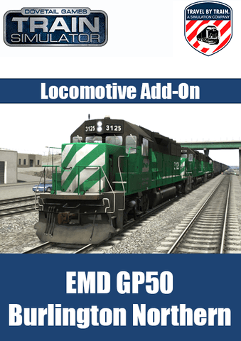 EMD GP50 BN Locomotive Add-On