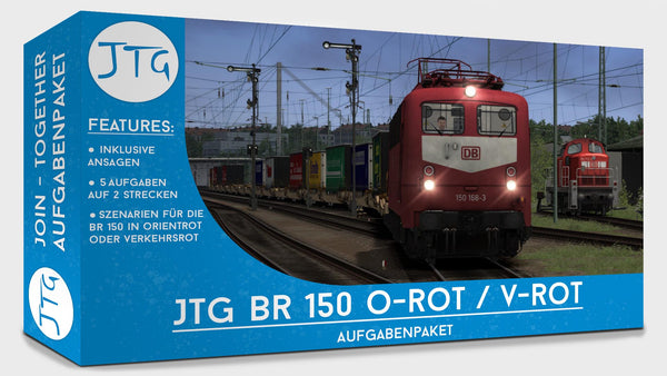 JTG BR150 Red Scenario Package
