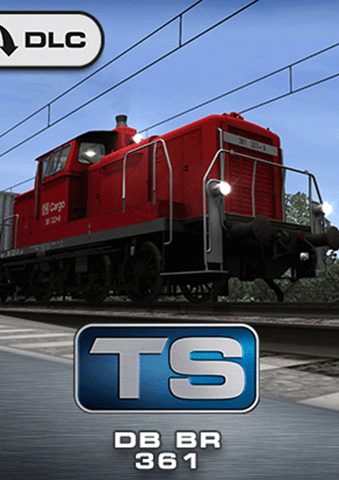 The diminutive DB BR 361 packs a punch when it comes to serious pulling power, and is now available for shunting duties on Germany's rail network in Train Simulator.