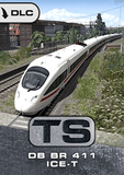 The seven-car DB BR 411 'ICE-T' was the first tilting train to enter service on the German railway network, and now joins the stable of ICE trains for Train Simulator.