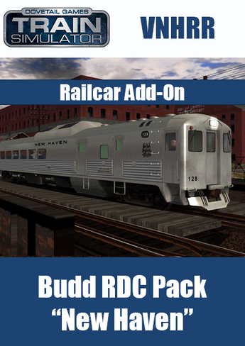 Budd RDC Pack 'New Haven'