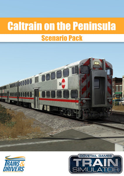 The Trains & Drivers scenario pack for Train Simulator brings you six prototypical passenger scenarios for the Peninsula Corridor: San Francisco - Gilroy Route Add-On.