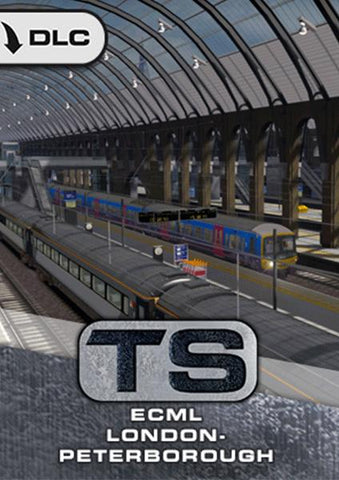 ECML: London - Peterborough Route Add-On, available from trainsim.store