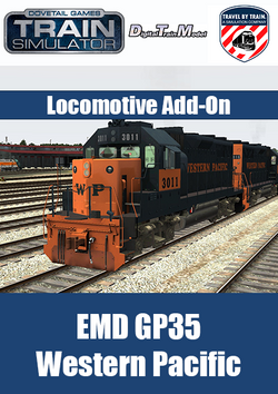 EMD GP35 Western Pacific Locomotive Add-On