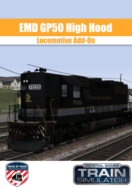 EMD GP50 HH Southern Locomotive Add-On