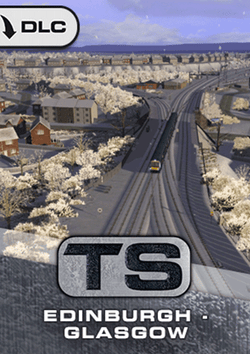 Edinburgh - Glasgow Route Add-On available at trainsim.store