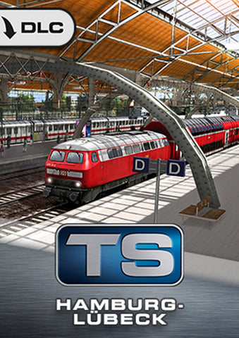 Hamburg - Lübeck Route Add-On for Train Simulator, now available from trainsim.store