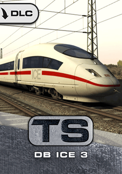DB ICE 3 EMU Add-On for Train Simulator, available at trainsim.store